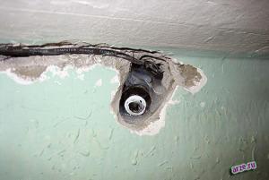 Фото установки скрытой видеокамеры