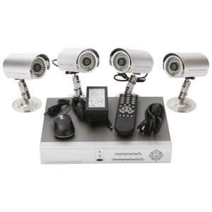 Комплект из 4-х камер и видеорегистратора