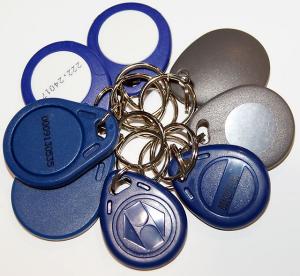 Ключи типа RFID от домофона в подъезд