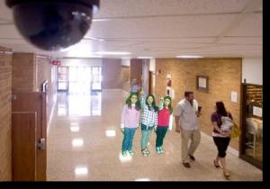 Камеры видеонаюлдения в школе - это безопасность