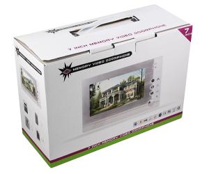 Комплект домофона в коробке фото