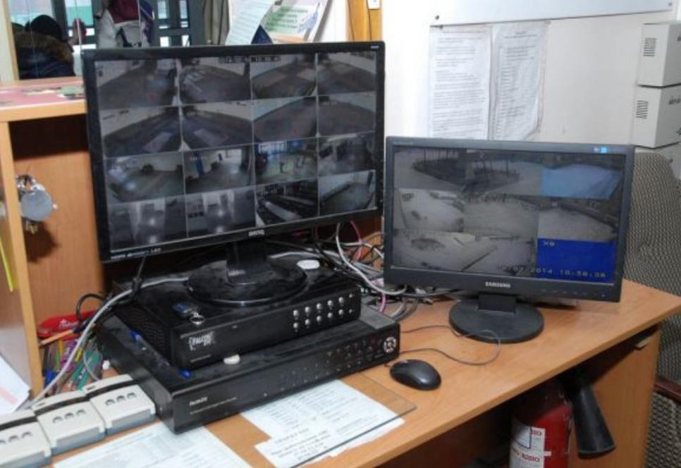 Установка системы видеонаблюдения за счет средств омс