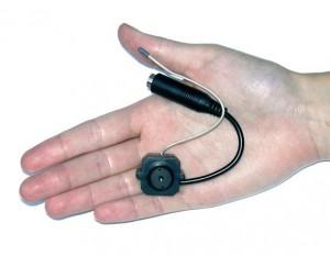 Аналоговая камера на руке. Размеры скрытой аналоговой камеры