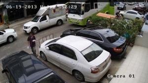 Пример качества записи IP-камеры (сетевой) c Full HD разрешением (1920х1080)