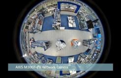 Панорамные камеры и их использование в видеонаблюдении