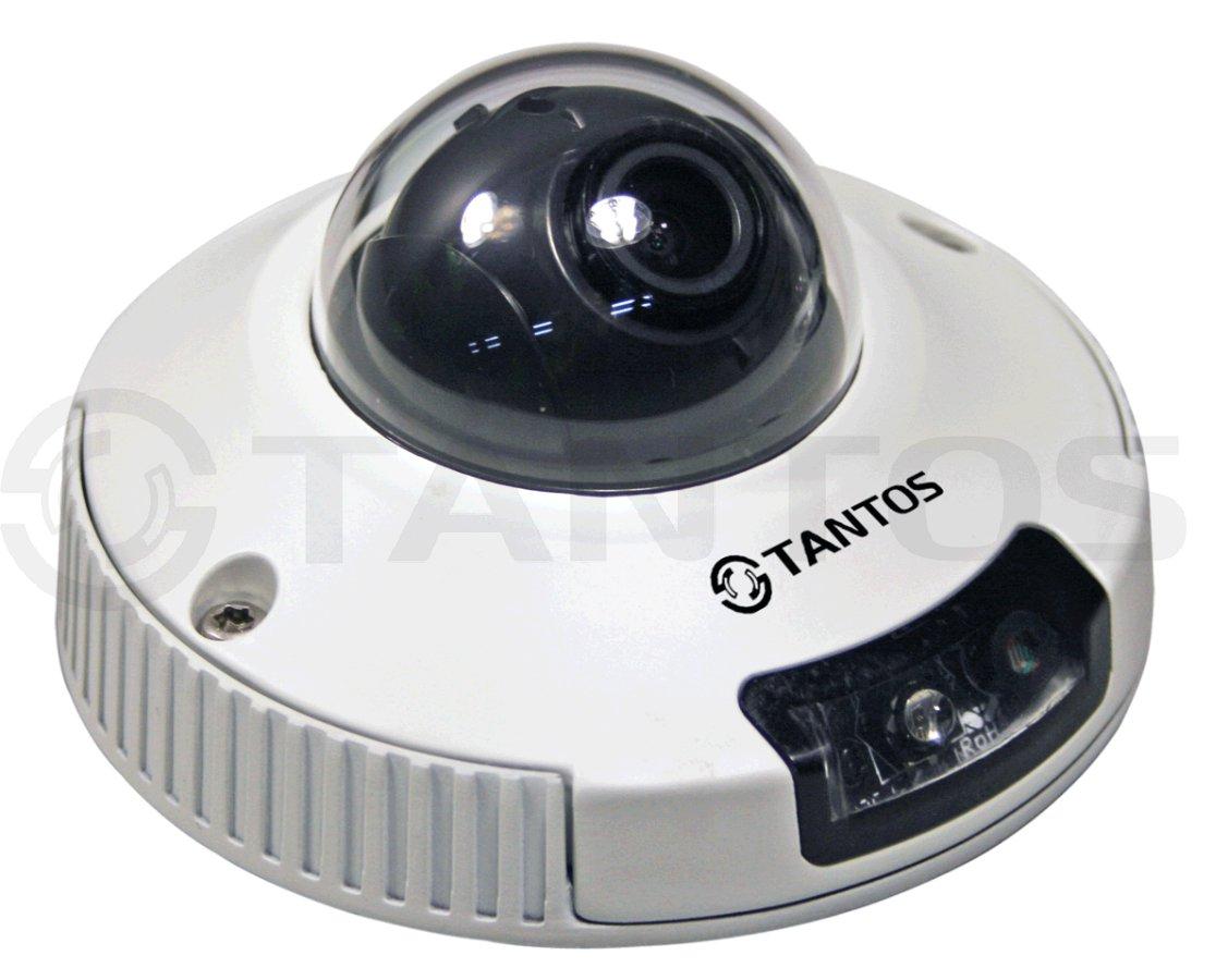 Купольная IP камера Tantos