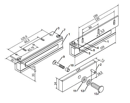 Схема инструкция установки электромагнитного замка