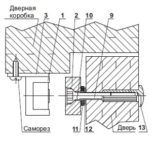 Инструкция по установки электромагнитного замка на дверь