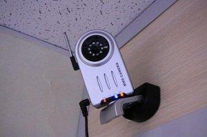 установленная mms камера на даче