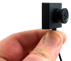 Скрытая видеокамера под пуговицу