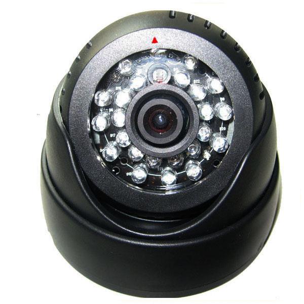 Купольная камера с функцией записи на флешку
