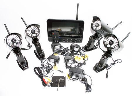 Комплект беспроводного видеонаблюдения Kvadro Vision Kvadro Vision HomeHome