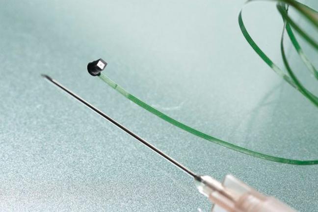 Размер микрокамеры с иголку