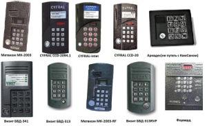 Разнообразие фирм производителей домофонов