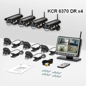 Комплект системы беспроводного видеонаблюдения
