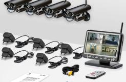 Беспроводное видеонаблюдение — часть системы безопасности дома