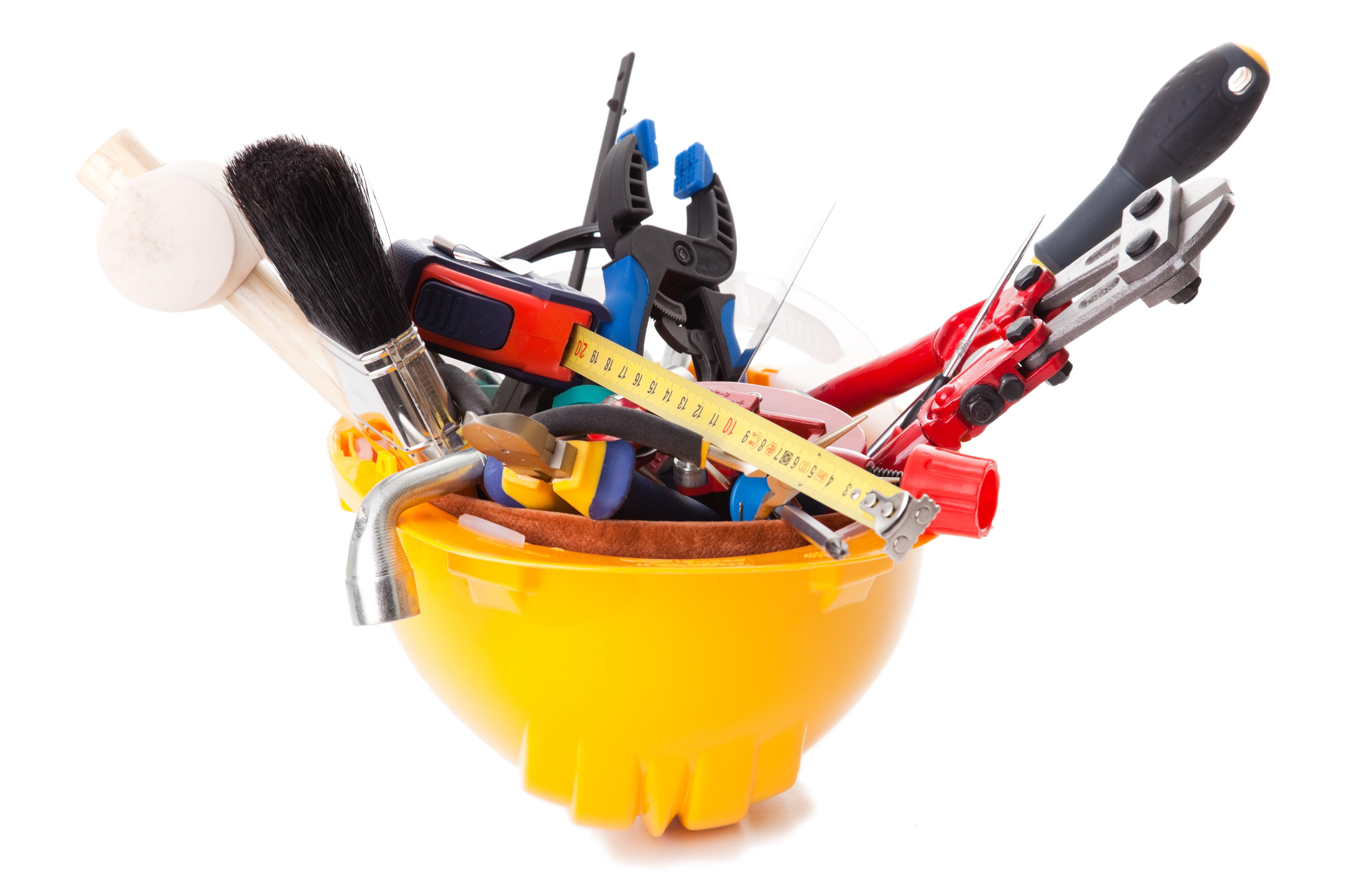 Инструмент для ремонта ванной