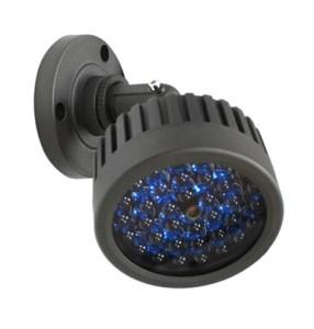 ИК прожектор для ночных камер видеонаблюдения круглой формы