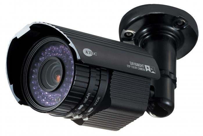 Подключение камеры видеонаблюдения к монитору напрямую