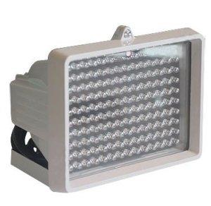 ИК прожектор прямоугольной формы дополнительная подстветка для ночных камер видеонаблюдения