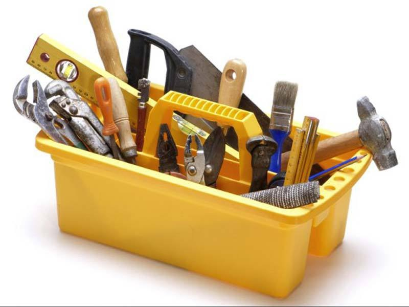 набор инструментов для монтажа