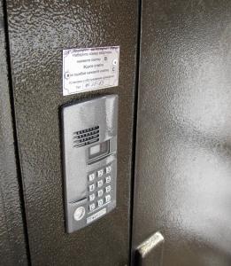 врезная панель видеодомофона