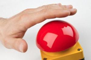Кнопка аварийного закрытия шлагбаума