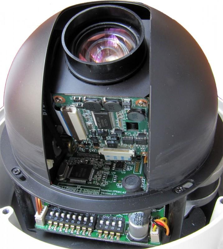 Вид изнутри PZT-камеры