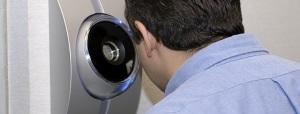 сканер оболочки глаза в действии