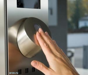 сканер по отпечатку пальца