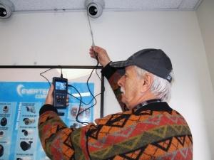 проверка работоспособности и настройка камер CCTV тестером