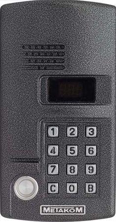 многоабонентский врезной домофон, с поддержкой связи типа «радио». Рассчитан на обслуживание 999 абонентов