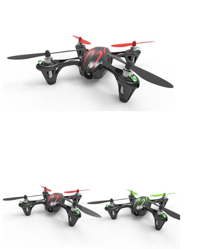 летающий дрон Hubsan X4 H107C