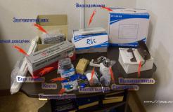 Монтаж видеодомофона в офисе с чистовой отделкой