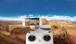 DJI Phantom 2 Vision+ v. 3.0 синхронизация со сматрфоном