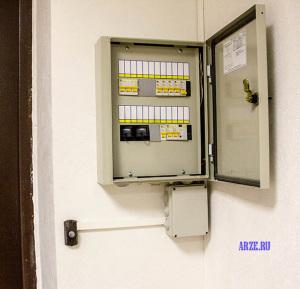 подключение видеомониторов домофона