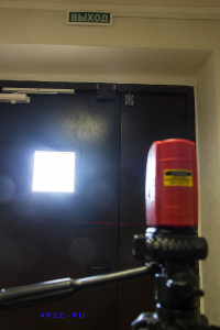 Разметка кабель-канала по лазерному уровню