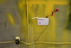 Пример монтажа комплекта gsm сигнализации