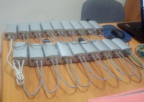 Построение и тестирование сети на оборудование Сигранд