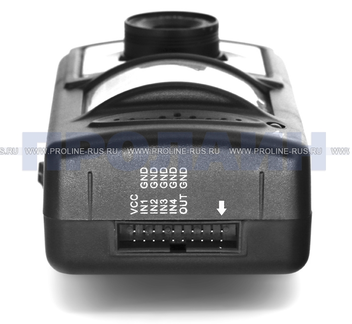 GSM MMS видеокамера Стриж Black вид изнутри, разъем для дополнительных подкобчений