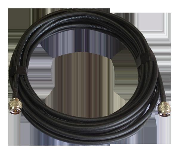 Кабель 5D/FB PVC с разъем N-типа (вилка)