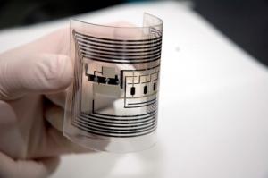 RFID гибкая, может монтироваться в любой объект