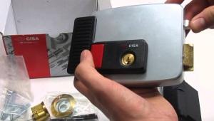 Серия накладных электромеханических замков CISA 11630