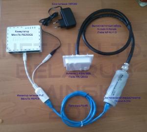 Схема подключение инжектора