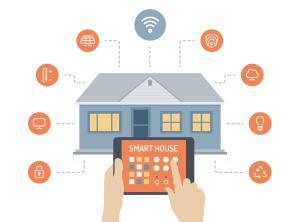 управления домом с помощью планшета