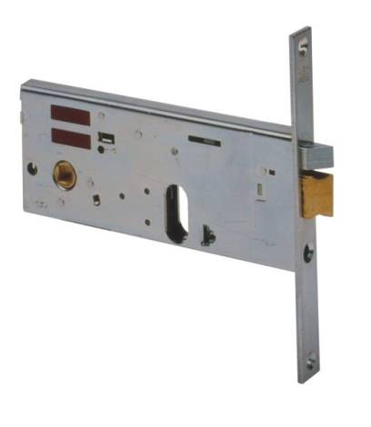 врезной электромеханический замок cisa для алюминиевых дверей