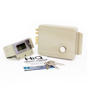 Накладной электромеханический замок HiQ Lock-014