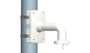 Кронштейн для крепления камеры видеонаблюдения на столбе