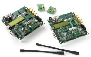 Две платы и RF-модуля беспроводной охранной сигнализации