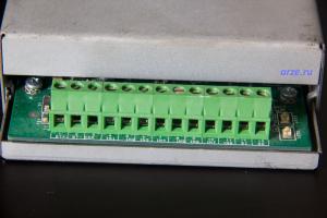 Клеммная коробка для подключения датчиков и питания к модулю ATSU100